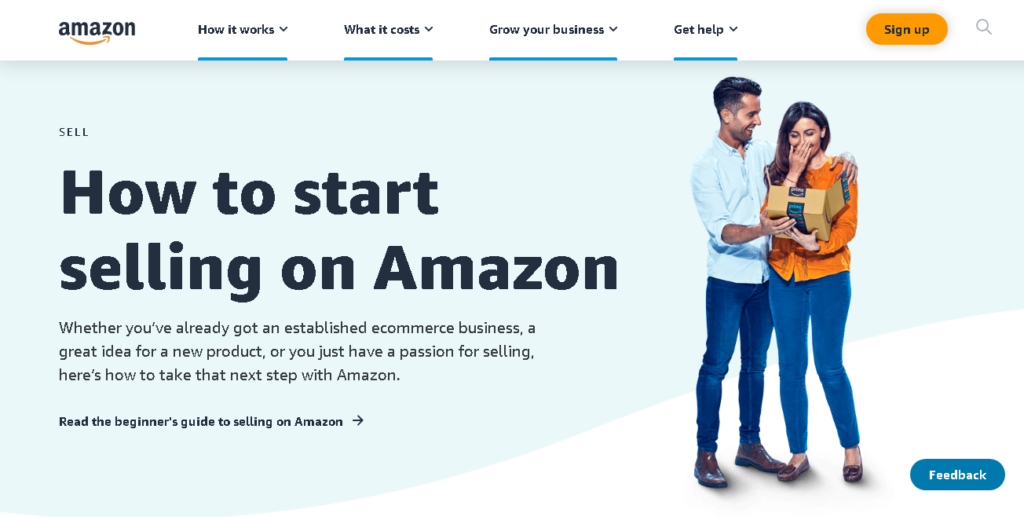how to start selling on Amazon FBA